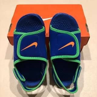 (全新) Nike Sunray Adjust 兒童防滑輕便涼鞋 - 10C