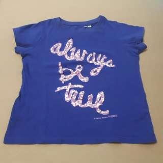 Uniqlo Always be True shirt