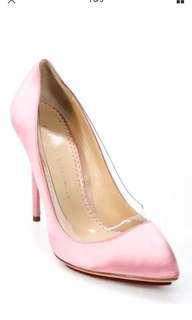 Charlotte olympia 粉紅色正版高跟鞋