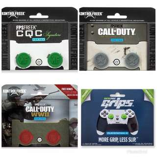 [Instocks] KontrolFreek Thumbsticks/Grip for PS4 and Xbox One