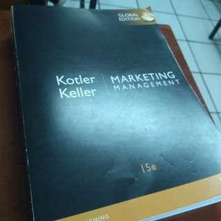 Buku management marketing