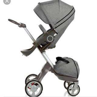 挪威品牌Stokke XPLORY V4高景觀嬰兒推車 出租