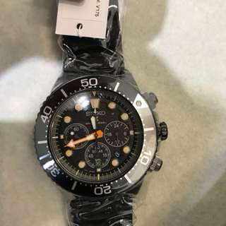 Seiko prospex limited edition black SSC673P1 real not g-shock