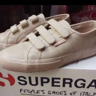 Superga Total Nude Velcro shoes