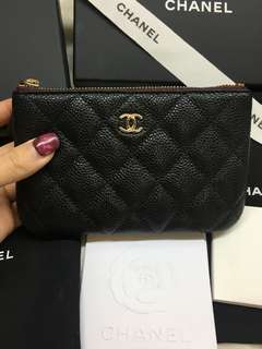 ❗️Hold❗️New Chanel coins pouch GHW