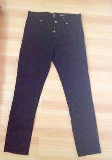 Brand New H&M Slim Fit Black Pants