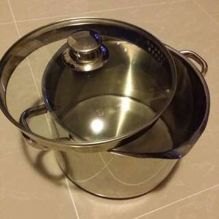 Branded cooking pot