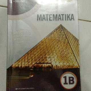 Matematika untuk SMP/MTs kelas VII semester 2