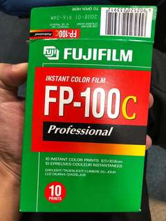 Instant color film FP-100c professional (expired 2008)