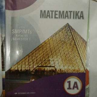 Matematika untuk SMP/MTs kelas VII semester 1