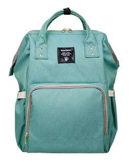 Sunveno Green Diaper Bag