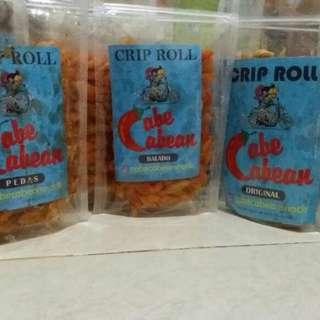 cuma 7.000,- /pc beli banyak lebih murah guys  1. Macaroni - Original  - Keju - Balado - Pedas - Super pedas  2. Crip roll - Original  - Keju - Balado - Pedas - Super pedas  3. Basreng - Original  - Keju - Balado - Pedas  WA : 087764692005