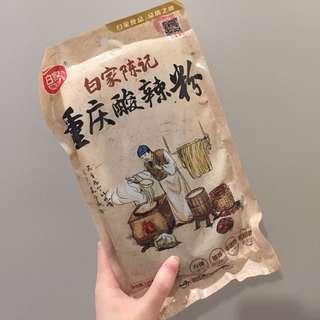 白家陳記手工酸辣粉(白色包裝粗粉款)