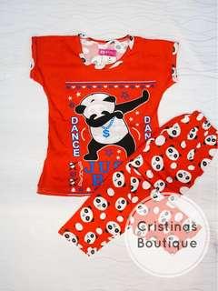Panda Sleepwear Set