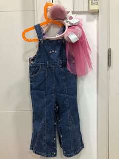 Overall / dungaree for girl