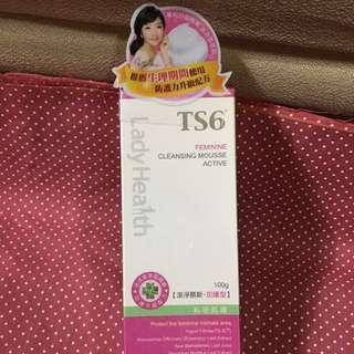 TS6護一生潔淨慕斯 加護型 女性私密專用