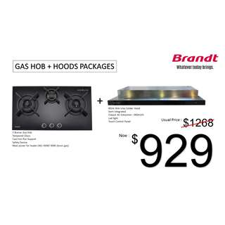 Brand New!!! Brandt Hob and Hood Special Package Promo