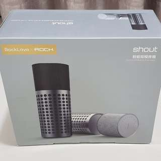 ROCK Lava Shout Bluetooth + WiFi Speaker