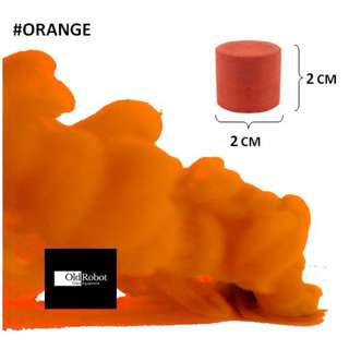 Orange Smoke Cake for Photography & Videography