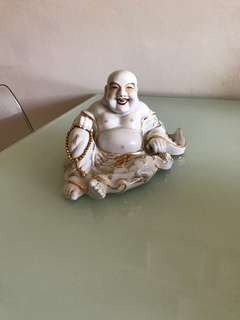 Porcelain Laughing Buddha