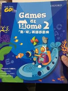 Oxford Get Set Go! Games at Home 2 點玩 英語遊戲册 學前教育 幼兒教育 牛津點讀筆 Oxford reading pen