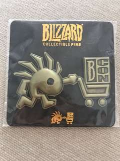 Brand new Blizzard pins