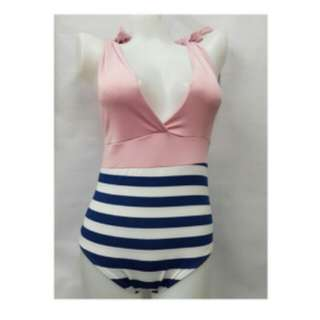 nautical onepiece swimsuit