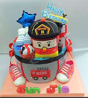 Customised Diapers Cake - Full month, 1 yrs old Birthday, 100days celebration,