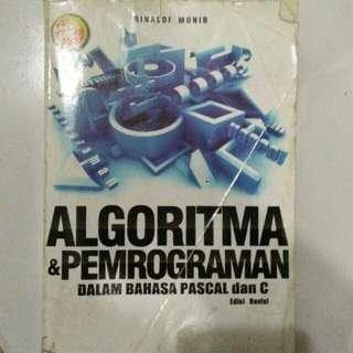 Algoritma & pemrograman dalam bahasa pascal & c