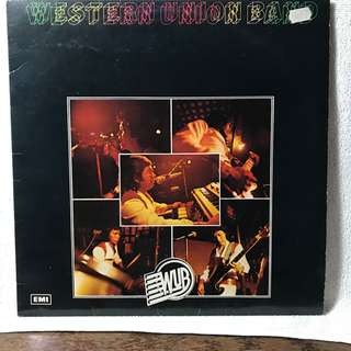"""The Western Union Band 12"""" LP Record"""