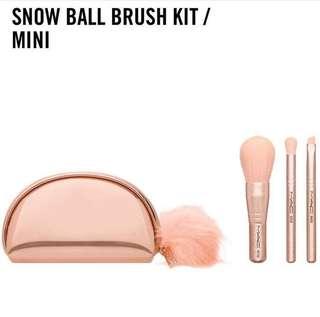MAC Snowball Brush Kit Mini