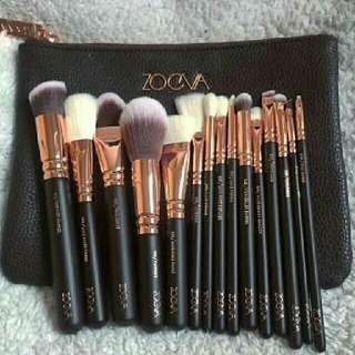 Zoeva Brushes set