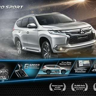 Mitsubishi Pajero Sport 2018