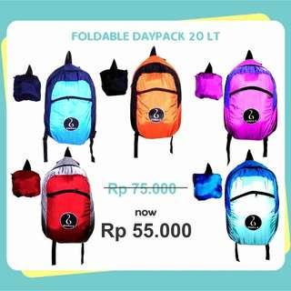 TAS LIPAT (Foldable Daypack) 20L