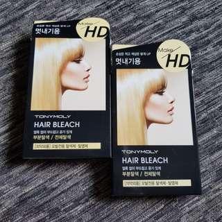 TONY MOLY Make HD Hair Bleach 10g + 30ml