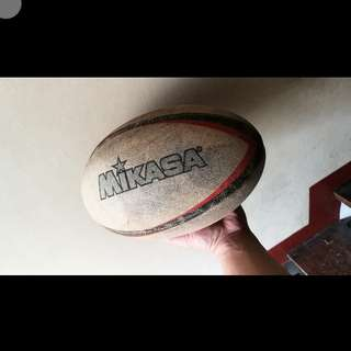 rugby ball mikasa brand