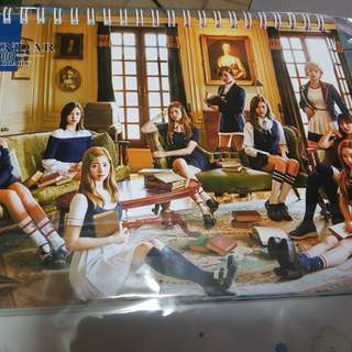 Twice 2018 calendar (UNOFFICAL)