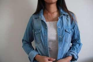 Denim style jacket (light)