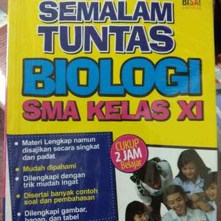 SKS biologi sma