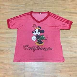 Kaos Vintage Disney Minnie Mouse