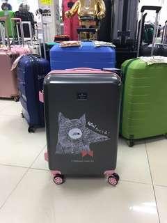 阿豪 美國品牌 Hallmark 狐狸公仔 全新 行李箱