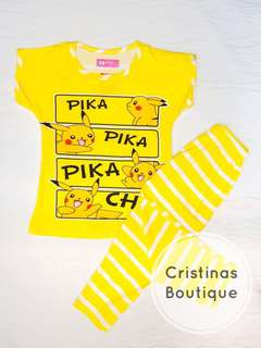 Pika Pika Sleepwear Set