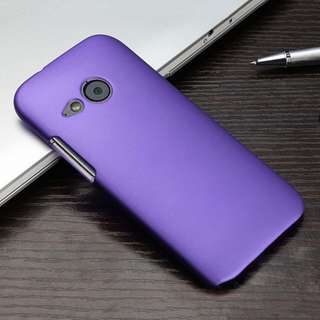 HTC ONE M9 Glossy Matte Rubber Back Snap On Hard Cover