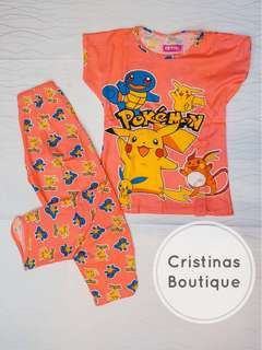Pokemon Sleepwear Set
