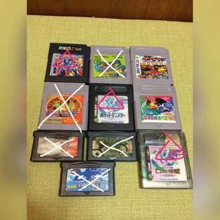 Gameboy GBA 遊戲卡帶