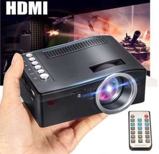 Mini home theatre projector HDMI