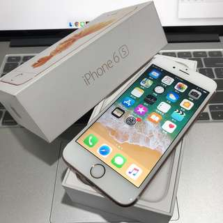 【售】iPhone 6s 64GB 玫瑰金