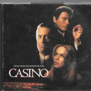MY CD ALBUM- CASINO - MUSIC FROM MOTION PICTURE / 2 CDS ALBUM - /FREE DELIVERY / (BOX W9)