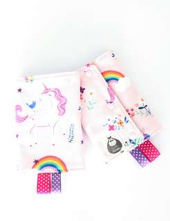 Unicorn Dreams Straight Drool Pads