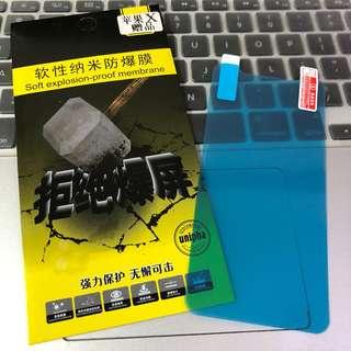 全新 iPhoneX 透明軟性薄膜Mon貼 屏幕保護貼 包郵